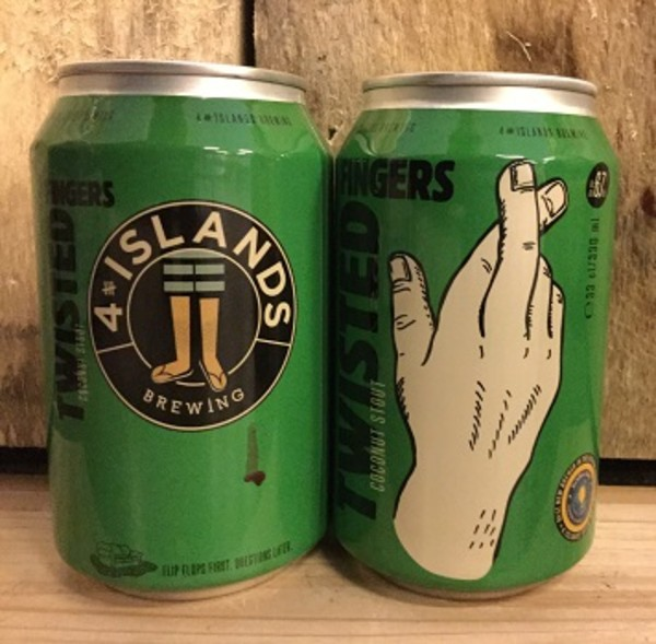Twisted Fingers, 4 Islands Brewing