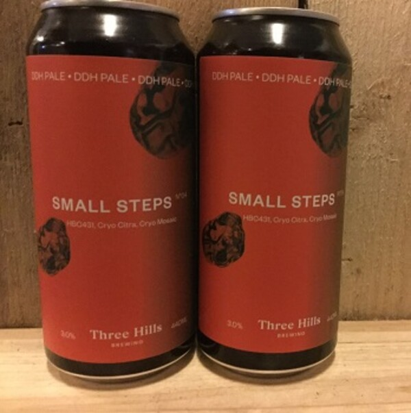 Small Steps No.4, Three Hills